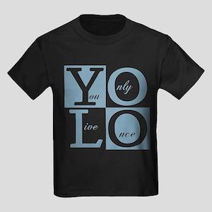 YOLO Kids Dark T-Shirt
