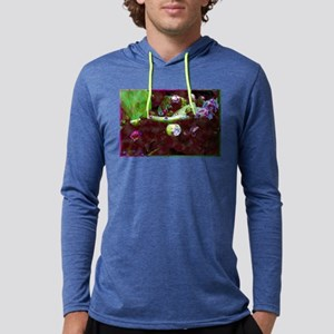 Cactus Flower Buds Mens Hooded Shirt