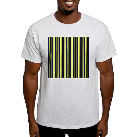 Navy Yellow Stripes Light T-Shirt