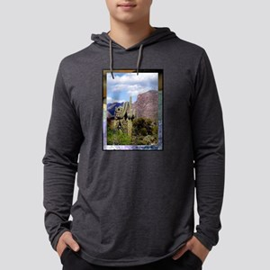 Desert Scene Mens Hooded Shirt