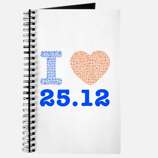I Love 25.12 Journal
