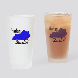 Harlan Darlin' Drinking Glass