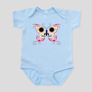 Multi Color Sugar Skull Butte Infant Bodysuit
