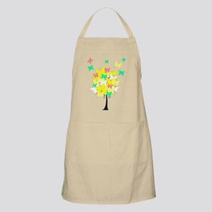 Yellow Butterfly Tree Apron