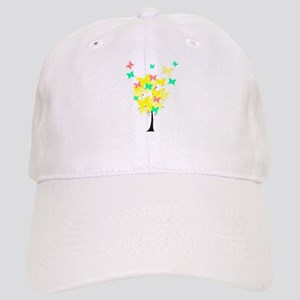 Yellow Butterfly Tree Cap