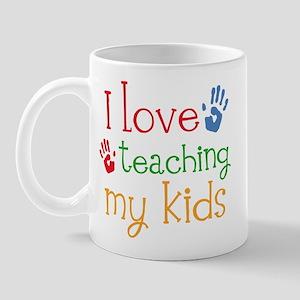 I Love Teaching My Kids Mug