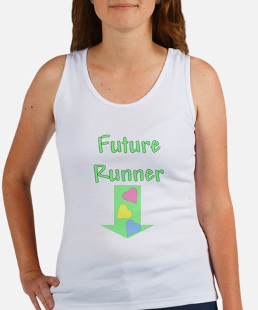 future runner green Tank Top