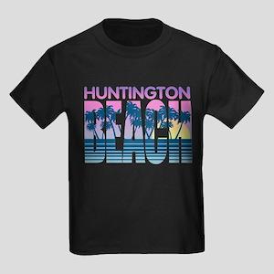 Huntington Beach Kids Dark T-Shirt