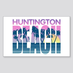 Huntington Beach Sticker (Rectangle)