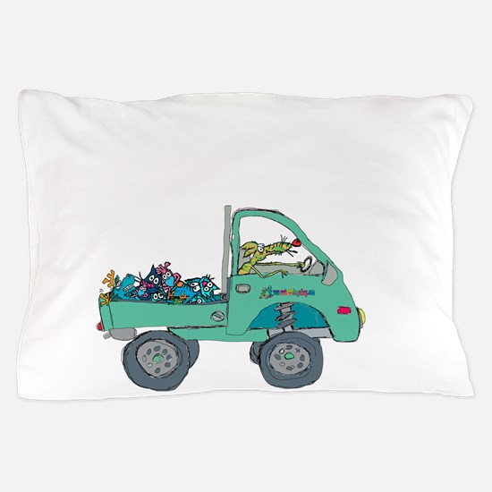 to the dump Pillow Case
