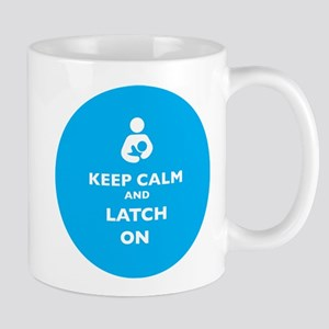 Keep Calm and LAtch On Mugs