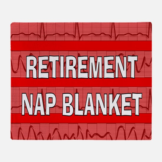 Medical Retirement Blanket Throw Blanket