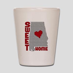 Sweet Home Bama Shot Glass