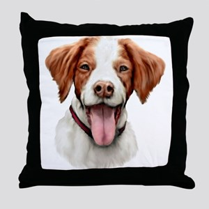 Brittany Bust Throw Pillow