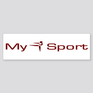 My Sport - Karate / Martial Arts Sticker (Bumper)