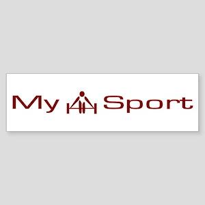 My Sport - Weightlifting / Bodybuilding Sticker (B