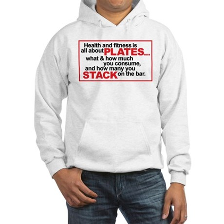 All About PLATES Hooded Sweatshirt