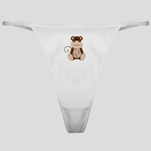 Swirly Monkey Classic Thong