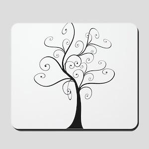 Swirly Tree Mousepad