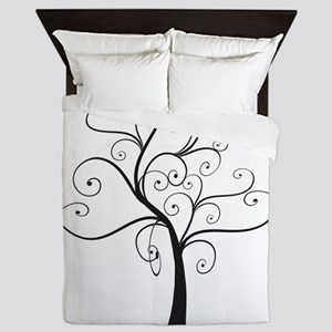 Swirly Tree Queen Duvet
