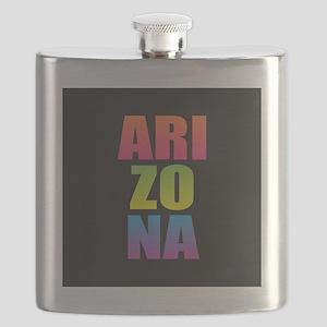 Arizona Black Rainbow Flask