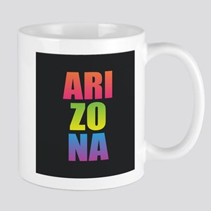 Arizona Black Rainbow Mugs