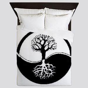 Wiccan tree Queen Duvet