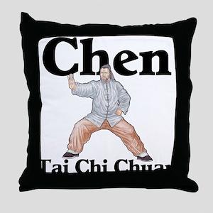 Chen Tai Chi Chuan Throw Pillow