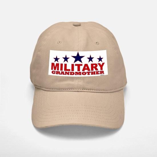 Military Grandmother Baseball Baseball Cap