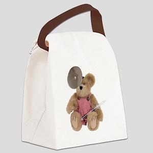 FemalePediatricsDoctor100409 Canvas Lunch Bag