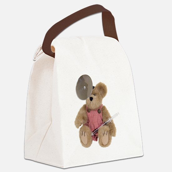 FemalePediatricsDoctor100409.png Canvas Lunch Bag