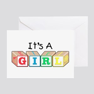 It's a Girl! New Baby Greeting Cards (Pk of 10