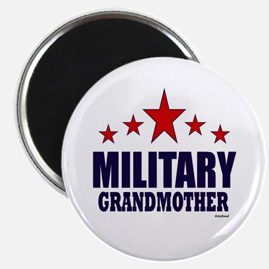 "Military Grandmother 2.25"" Magnet (10 pack)"