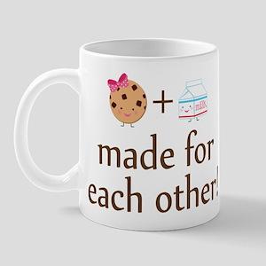 Cookie and Milk Couples Mug