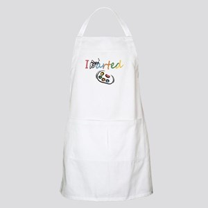 I Arted Light Apron