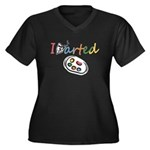 I Arted Plus Size T-Shirt