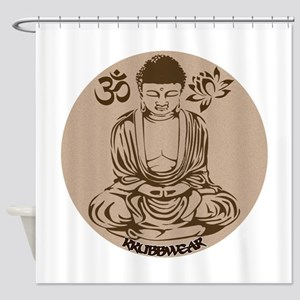 KW BUDA SEPIA Shower Curtain