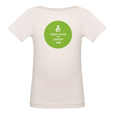 Keep Calm and Latch On Lime T-Shirt