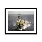 USS IWO JIMA Framed Panel Print