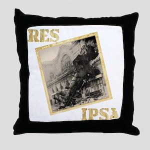 Res Ipsa Throw Pillow