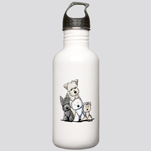 Terrier Time Stainless Water Bottle 1.0L