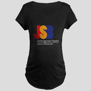 JSB Designer Tees Maternity Dark T-Shirt
