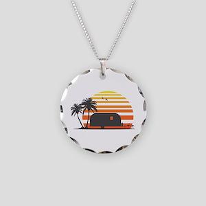 California Streamin' Necklace Circle Charm