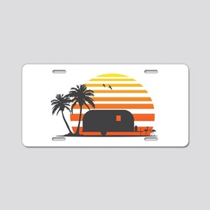 California Streamin' Aluminum License Plate
