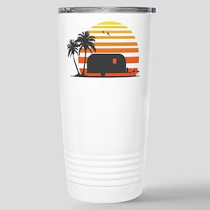 California Streamin' Stainless Steel Travel Mug