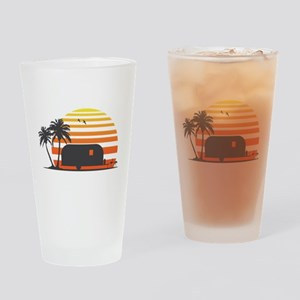 California Streamin' Drinking Glass