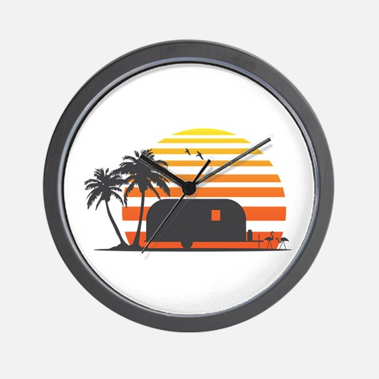 California Streamin' Wall Clock