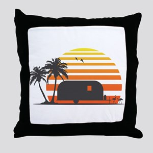 California Streamin' Throw Pillow