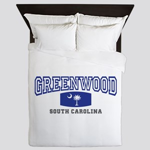 Greenwood South Carolina, SC, Palmetto State Flag
