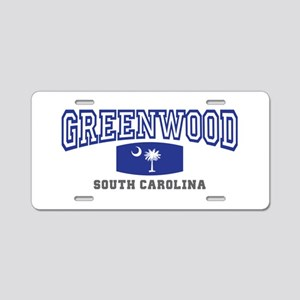 Greenwood South Carolina, SC, Palmetto State Flag